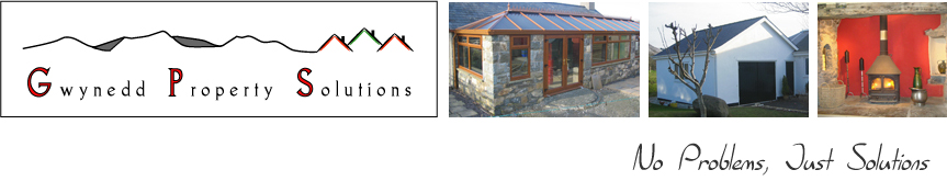 Gwynedd builders of quality conservatories, extensions and restoration