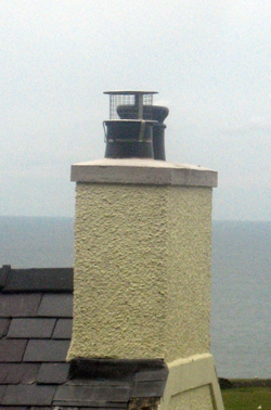 Rebuilt Chimney Stack